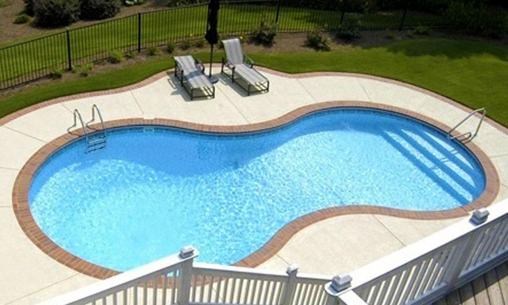 Figure 8 Inground Pool Mermaid Pools Ottawa Ontario